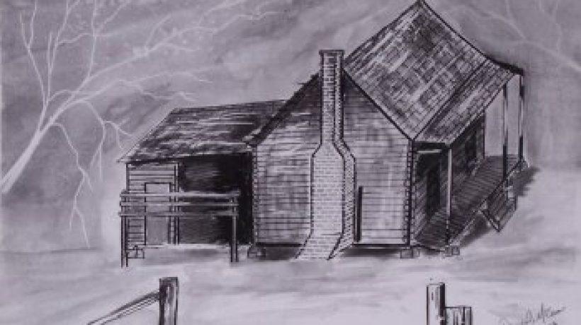 Pen & Ink – The House by derekmccrea