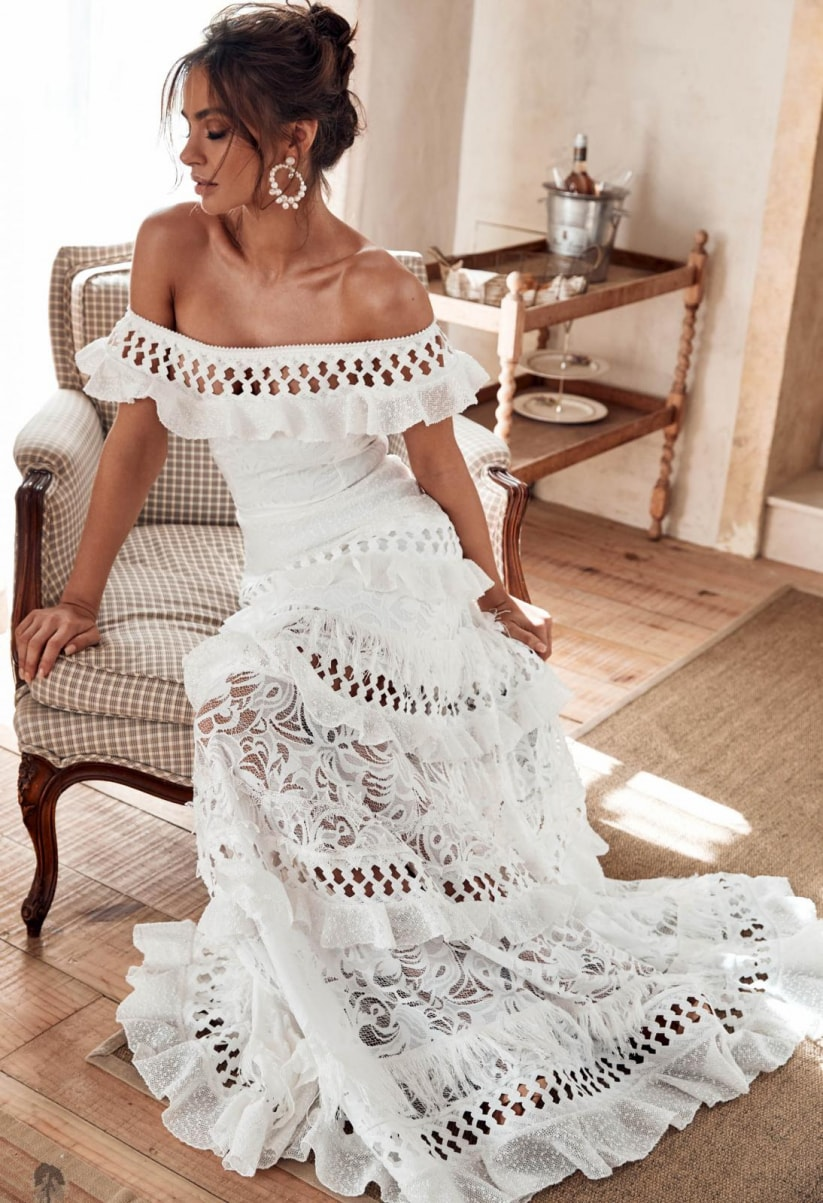 Grace Loves Lace wedding dresses: romance and sensuality for a sophisticated design
