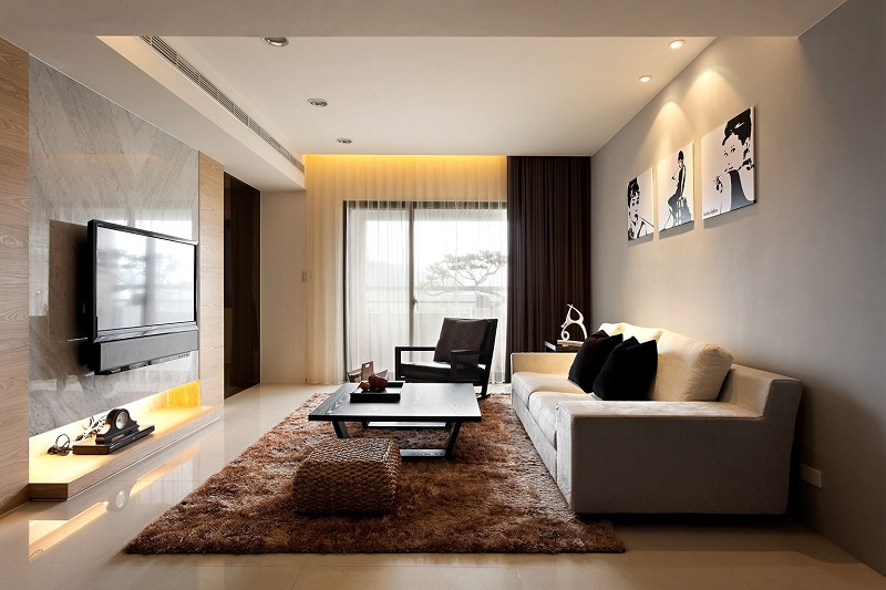 Contemporary rooms