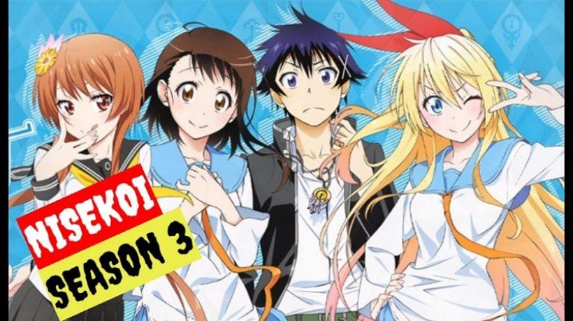 Nisekoi season 3 release date