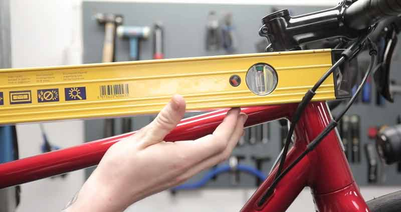 Measure a Bike Frame