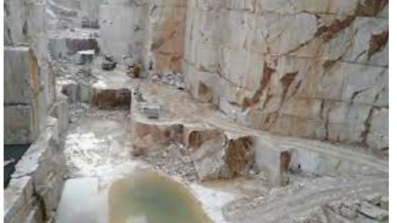 What is marble made from